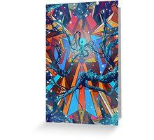 Mnemonic Traveler Greeting Card