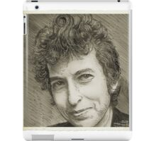 PORTRAIT OF BOB DYLAN iPad Case/Skin