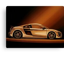 Audi R8 Painting Canvas Print