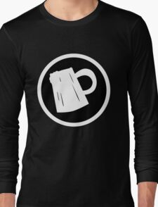 Cider Party Flat Logo Long Sleeve T-Shirt