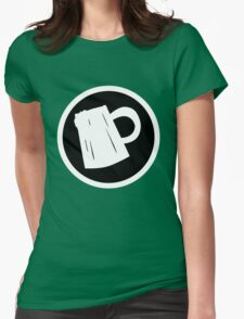 Cider Party Flat Logo Womens Fitted T-Shirt