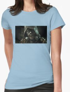 Scarecrow Painting  Womens Fitted T-Shirt