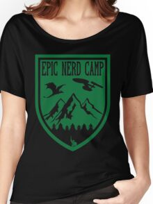 Epic Nerd Camp Women's Relaxed Fit T-Shirt