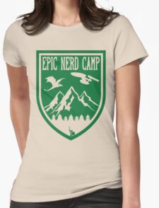 Epic Nerd Camp Womens Fitted T-Shirt