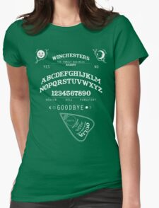 SUPERNATURAL OUIJA BOARD Womens Fitted T-Shirt