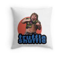 Truffle Shuffle Throw Pillow