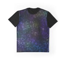 Starry Galaxy Graphic T-Shirt