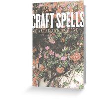 Craft Spells  Greeting Card