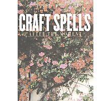 Craft Spells  Photographic Print