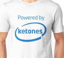 Powered By Ketones - Blue Unisex T-Shirt