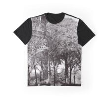 Eiffel Tower Ground Level Graphic T-Shirt