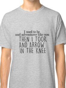 Skyrim - Quote Classic T-Shirt