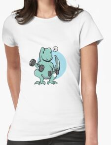 Exercise Trex: lifts Womens Fitted T-Shirt