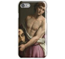Alessandro Turchi, called Orbetto DAVID WITH THE HEAD OF GOLIATH,  iPhone Case/Skin
