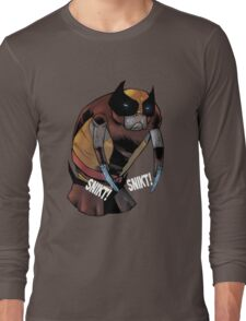 Wolverine Manatee SALE! Long Sleeve T-Shirt