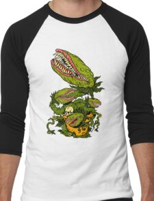Venus Fly Trap Men's Baseball ¾ T-Shirt