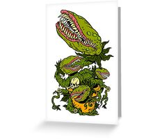 Venus Fly Trap Greeting Card