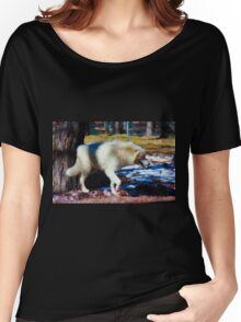 """""""Call of the Wild"""" --title by Jack London Women's Relaxed Fit T-Shirt"""