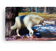 """Call of the Wild"" --title by Jack London Metal Print"