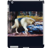 """Call of the Wild"" --title by Jack London iPad Case/Skin"