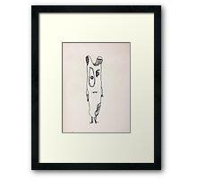 """The Mini Monster Illustrations - """"Smutach"""" Framed Print"""