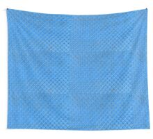 blue fence net Wall Tapestry