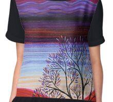 Pastels - Sunset Chiffon Top