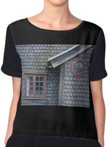 Bucolic Old House Chiffon Top