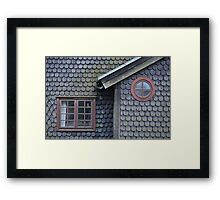 Bucolic Old House Framed Print