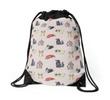 Doges Drawstring Bag