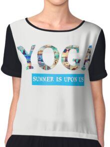 Yoga Summer Chiffon Top