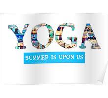 Yoga Summer Poster