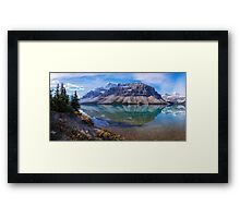 Crowfoot Reflection Framed Print