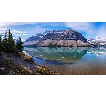 Crowfoot Reflection Photographic Print