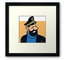 Capitaine mille sabords Framed Print