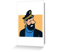 Capitaine mille sabords Greeting Card
