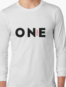1 Verse! White Long Sleeve T-Shirt