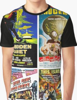 Sci-fi Movie Poster Collection #4 Graphic T-Shirt