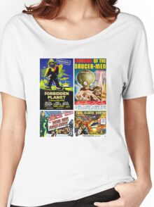 Sci-fi Movie Poster Collection #4 Women's Relaxed Fit T-Shirt