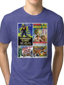 Sci-fi Movie Poster Collection #4 Tri-blend T-Shirt