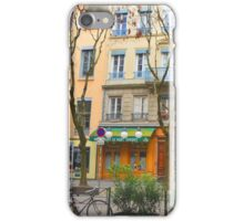 colorful french village  iPhone Case/Skin