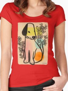 Arf! Arf! Arf! Women's Fitted Scoop T-Shirt