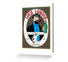 Loch Lomond Classic capitain Greeting Card