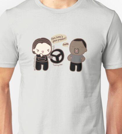 Steering Wheel Unisex T-Shirt