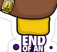Kobe End of an Era Sticker