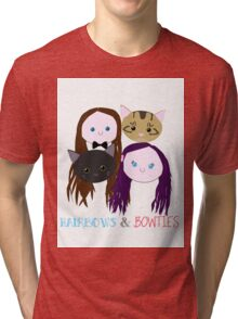 Hairbows and Bowties Tri-blend T-Shirt