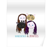 Hairbows and Bowties Poster