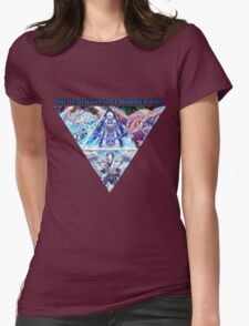 The Ice Barrier Dragons Womens Fitted T-Shirt