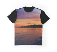 Orient Shoal At Dawn | East Marion, New York  Graphic T-Shirt