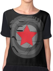Winter Soldier Shield Chiffon Top